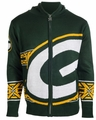 Green Bay Packers NFL Full Zip Hooded Sweater