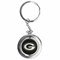 Green Bay Packers NFL Spinner Keychain