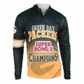 Green Bay Packers Super Bowl II Champions Poly Hoody Tee