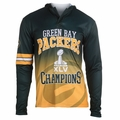 Green Bay Packers Super Bowl XLV Champions Poly Hoody Tee