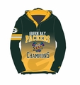 Green Bay Packers Super Bowl XXXI Champions Poly Hoody Tee
