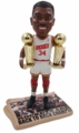 Hakeem Olajuwon (Houston Rockets) Back to Back Champs Newspaper Base Bobble Head Exclusive by Forever Collectibles