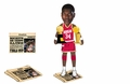 Hakeem Olajuwon (Houston Rockets) Finals MVP/Champ Newspaper Base NBA Legends Bobble Head