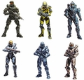 Halo 5: Guardians Series 1 Complete Set (6) McFarlane