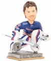 Henrik Lundqvist (New York Rangers) 2015 Springy Logo Action Bobble Head Forever Collectibles