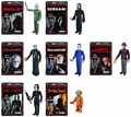 Horror Series Classics ReAction 3 3/4-Inch Retro Action Figure Complete Set (7)