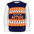 Houston Astros MLB Ugly Sweater Wordmark