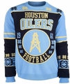 Houston Oilers Retro Cotton Sweater by Klew
