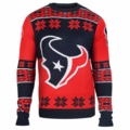 Houston Texans Big Logo NFL Ugly Sweater