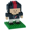 Houston Texans NFL 3D Player BRXLZ Puzzle By Forever Collectibles