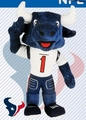 "Houston Texans NFL 8"" Plush Team Mascot"