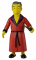 "Hugh Hefner (The Simpsons 25th Anniversary) 5"" Action Figure Series 1 NECA"