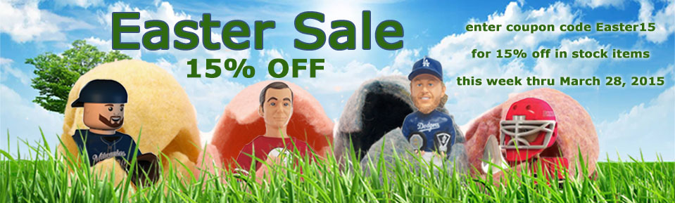 Easter SALE!  Use Coupon Code EASTER15 for 15% OFF!