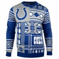 Indianapolis Colts Patches NFL Ugly Sweater by Klew