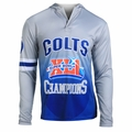 Indianapolis Colts Super Bowl XLI Champions Poly Hoody Tee