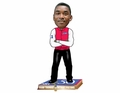 Isiah Thomas (Detroit Pistons) NBA 50 Greatest Players Bobble Head Forever