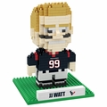J.J. Watt (Houston Texans) NFL 3D Player BRXLZ Puzzle By Forever Collectibles