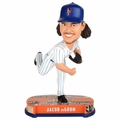 Jacob deGrom (New York Mets) 2017 MLB Headline Bobble Head by Forever Collectibles