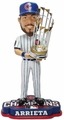 Jake Arrieta (Chicago Cubs) 2016 World Series Champions Bobble Head by Forever Collectibles