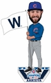Jake Arrieta (Chicago Cubs) 2016 World Series Champions Fly the W Flag Bobble Head