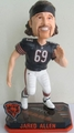 Jared Allen (Chicago Bears) Forever Collectibles 2014 NFL Springy Logo Base Bobblehead