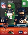 Jared Allen (Chicago Bears) NFL OYO G2 Sportstoys Minifigures
