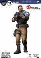 "JD (Gears of War 4) 7"" Figure McFarlane Color Tops Series - Red"