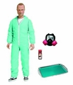 "Jesse Pinkman Breaking Bad 6"" Blue Hazmat Suit Previews Exclusive Mezco"