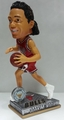 Joakim Noah (Chicago Bulls) 2015 Springy Logo Action Bobble Head Forever Collectibles