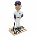Joe Maddon (Chicago Cubs) 2016 World Series Champions Newspaper Base Bobble Head by Forever Collectibles