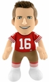 "Joe Montana (San Francisco 49ers)  10"" NFL Player Plush Bleacher Creatures"