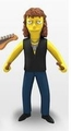 "Joey Kramer (Aerosmith) The Simpsons 25th Anniversary 5"" Action Figure Series 4 NECA"