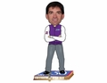 John Stockton (Utah Jazz) NBA 50 Greatest Players Bobble Head Forever