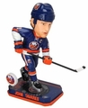 John Tavares (New York Islanders) Forever Collectibles 2014 NHL Springy Logo Base Bobblehead
