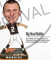 Johnny Manziel (Cleveland Browns) Forever Collectibles 2014 NFL BIG HEAD Bobblehead