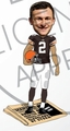 Johnny Manziel (Cleveland Browns) Forever Collectibles 2014 NFL Newpaper Base Bobblehead