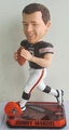 Johnny Manziel (Cleveland Browns) Forever Collectibles 2014 NFL Springy Logo Base Bobblehead