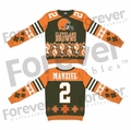 Johnny Manziel (Cleveland Browns) NFL Ugly Player Sweater