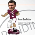 Johnny Manziel (Texas A&M) Helmet Base Heisman 2014 Bobblehead