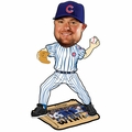 Jon Lester (Chicago Cubs) 2016 World Series Champions Newspaper Base Bobble Head by Forever Collectibles
