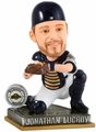Jonathan Lucroy (Milwaukee Brewers) 2015 Springy Logo Action Bobble Head Forever Collectibles