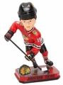 Jonathan Toews (Chicago Blackhawks) Forever Collectibles 2014 NHL Springy Logo Base Bobblehead