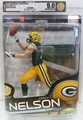 Jordy Nelson (Green Bay Packers) NFL Series 32 McFarlane AFA GRADED 9.0
