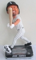 Jose Abreu (Chicago White Sox) Forever Collectibles 2014 MLB Springy Logo Base Bobblehead