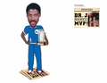 Julius Erving (Philadelphia 76ers) MVP Newspaper Base NBA Legends Bobble Head