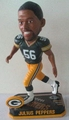 Julius Peppers (Green Bay Packers) Forever Collectibles 2014 NFL Springy Logo Base Bobblehead