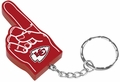 Kansas City Chiefs #1 Foam Finger Keychain