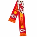Kansas City Chiefs 2016 NFL Big Logo Scarf By Forever Collectibles