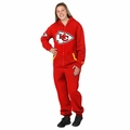 Kansas City Chiefs Adult One-Piece NFL Klew Suit