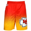Kansas City Chiefs NFL 2016 Gradient Polyester Shorts By Forever Collectibles